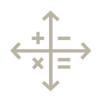 calculator compass icon