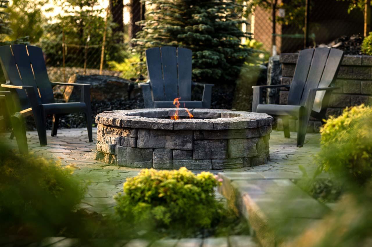 Rosetta Belvedere Circle Firepit