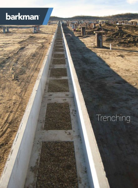 barkman trenching brochure