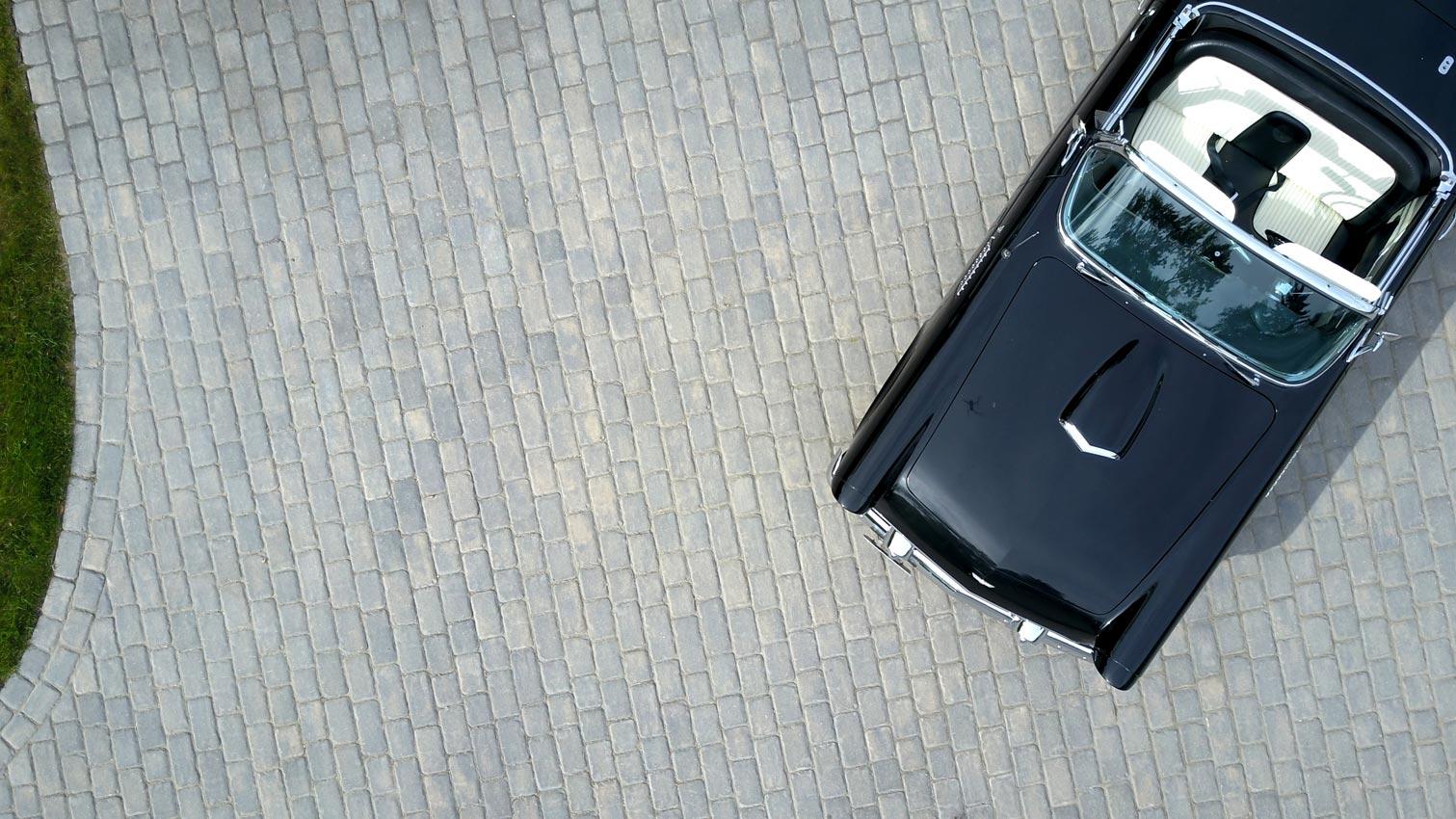 Cobble Paver Driveway