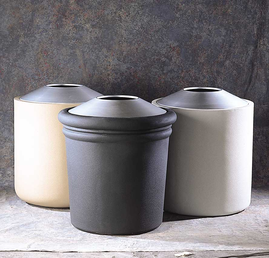 GFRC Waste Containers