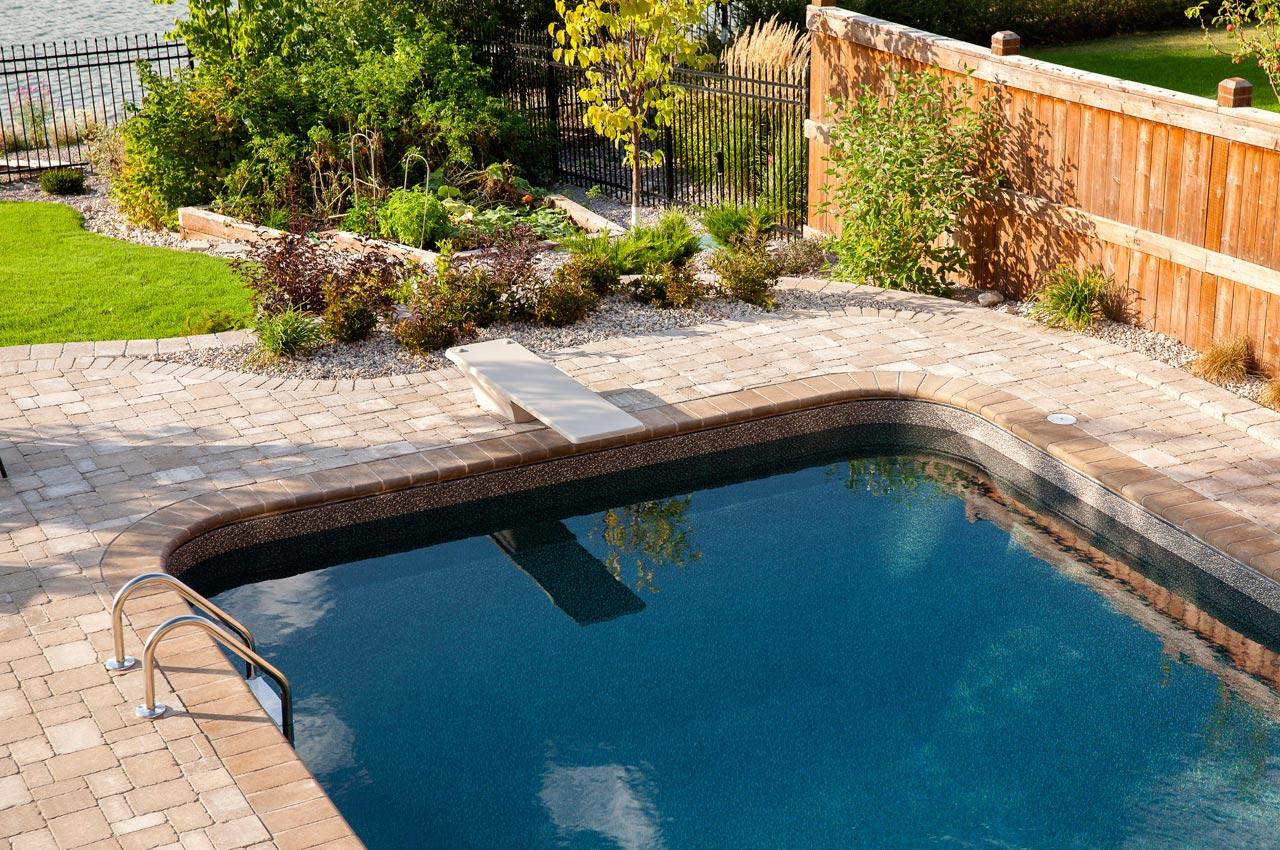 Bullnose Paver Pool