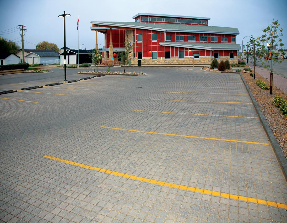 Colonial Eco Paver Commercial Parking Lot