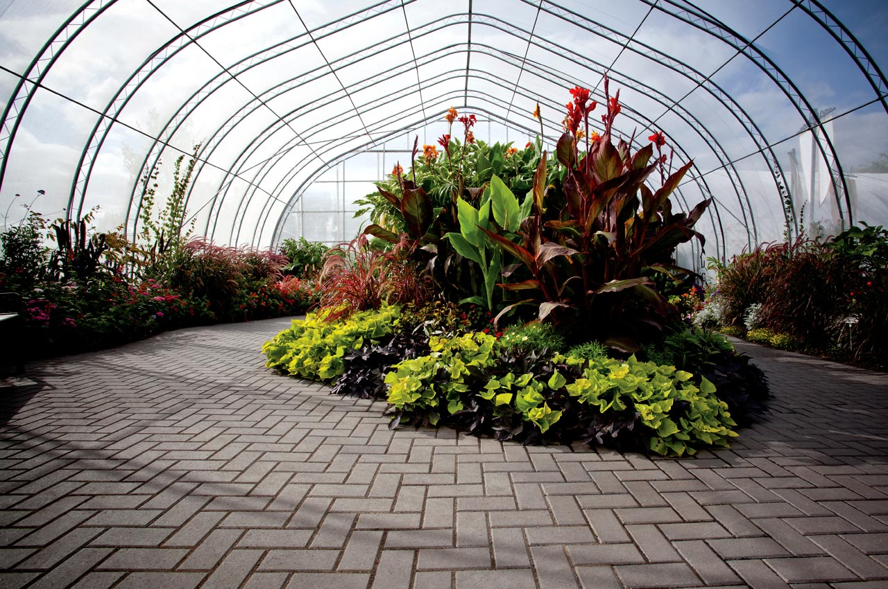 Holland Paver Greenhouse