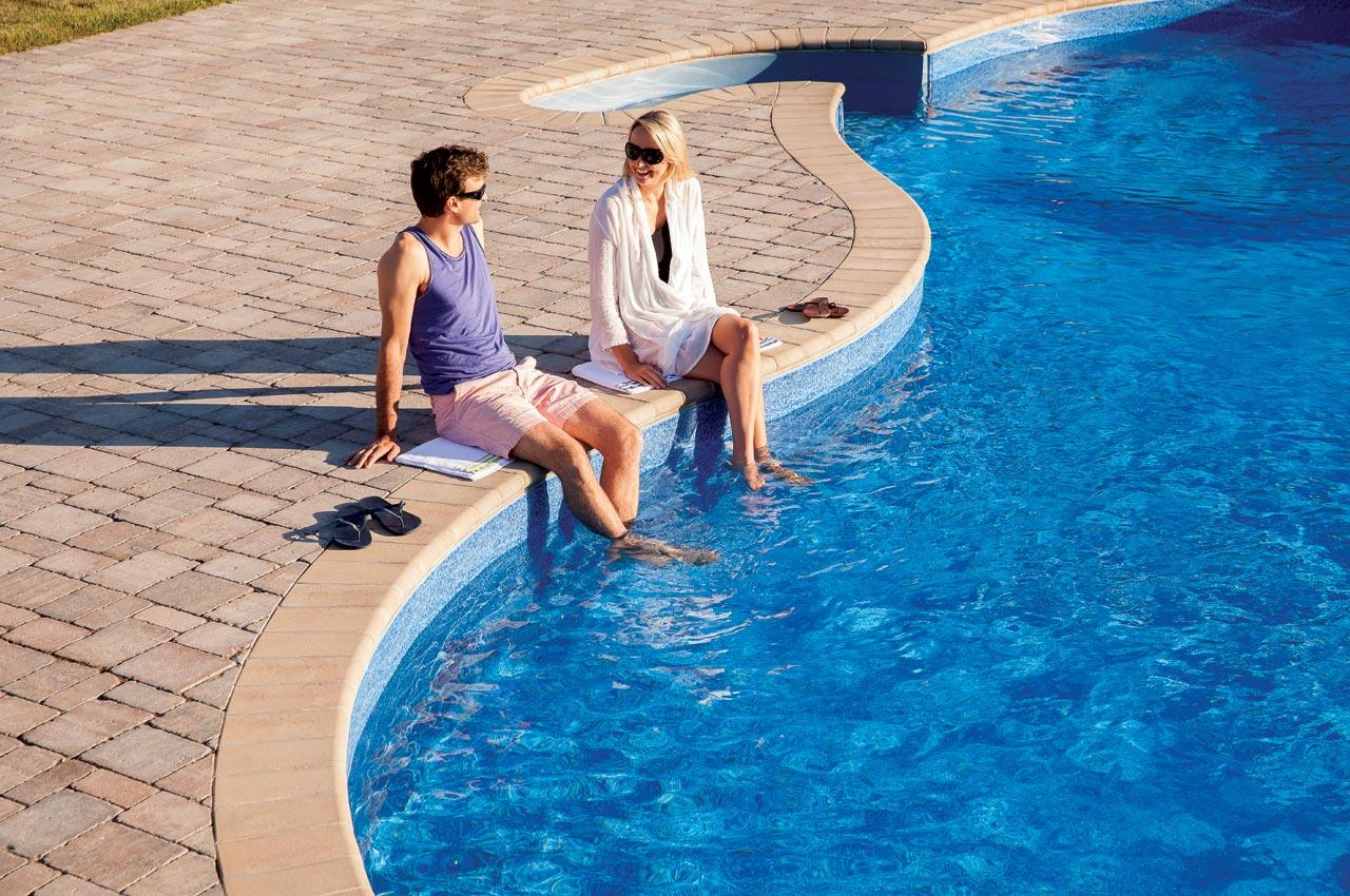 Roman Paver Pool