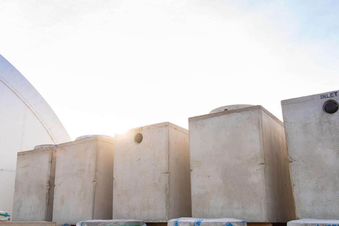 750 gallon septic pump tanks