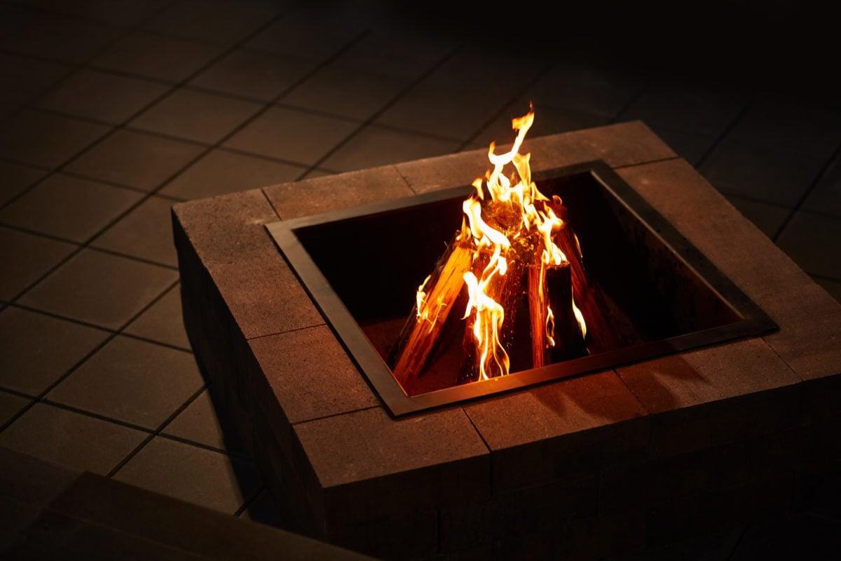 Modern Firepit Sierra Grey 2