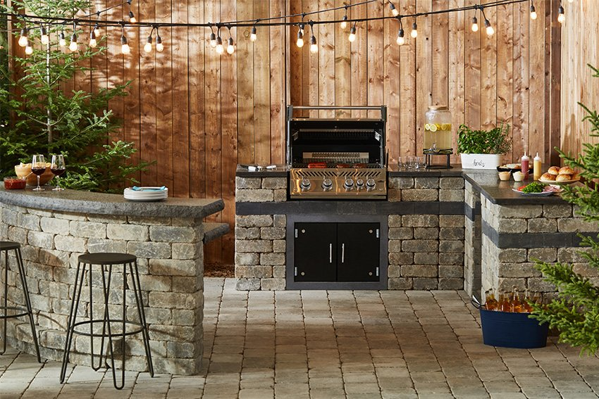 Quarry Stone Grill Base