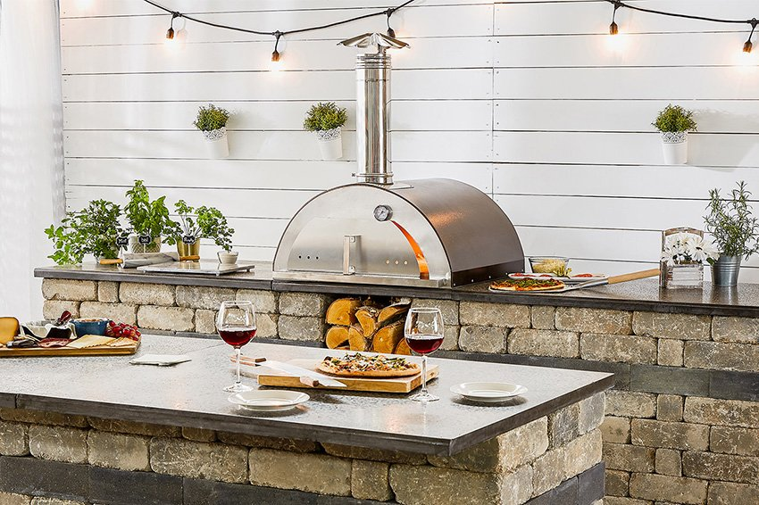 Quarry Stone Compact Pizza Oven